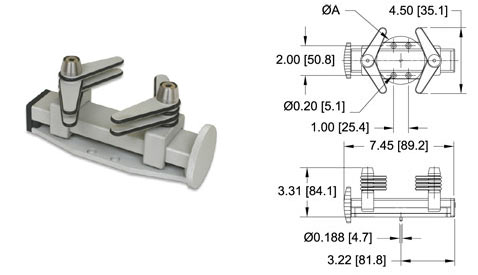 Capacity 200 Lbs Mark-10 G1013 Parallel Jaw Grip