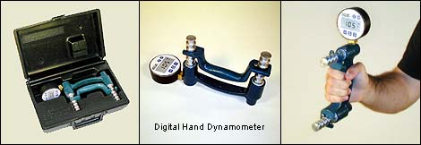 Baseline 12-0241 Lite Hydraulic Hand Dynamometer 200 lbs Capacity
